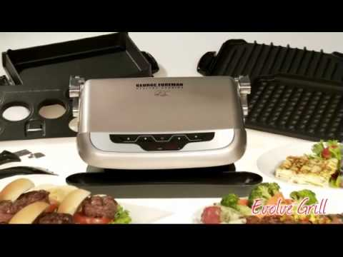 George Foreman Healthy Cooking Evolve™ Grill
