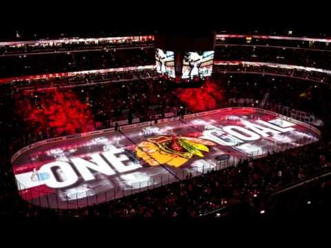 Chicago Blackhawks 2017 Playoff Goal Song (HQ)