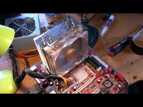 Peltier / TEC cooling a CPU