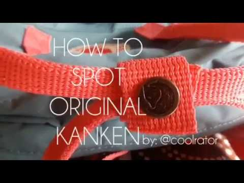 How to Spot Original FJALLRAVEN KANKEN CLASSIC BACKPACK