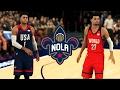 2017 BBVA Rising Stars Game In NBA 2K17   PS4