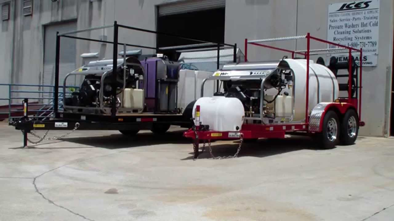 Image Result For Pressure Washer Trailers