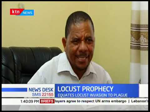 Kilifi Bishop attributes locust invasion as a biblical plague brought by God as a sign of punishment