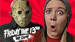 O JASON VAI ME PEGAR!!! -  Friday the 13th: The Game