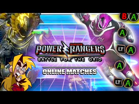 JUST LET ME MASH! : RJ Power Rangers Battle for the Grid Online Matches
