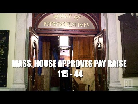 Massachusetts House Approves Expansive Pay Raises 115-44