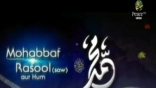 Video Mohabbat E Rasool SAW Aur Hum, Shaikh Razaullah Abdul Karim, Part 3 download MP3, 3GP, MP4, WEBM, AVI, FLV Oktober 2018