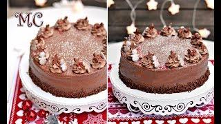 Tort Orzechowy z Czekoladowym Kremem – PRZEPIS – Mała Cukierenka