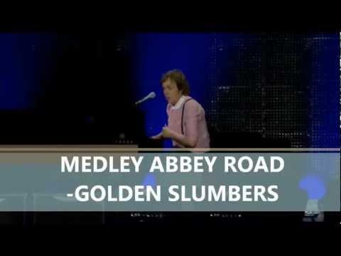 Paul McCartney- Medley Abbey Road (Subtitulada Español) (Zócalo México: 2012)