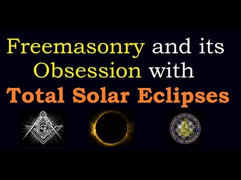 Freemasonry Founded by the Numbers - Total Solar Eclipses are the Rulers of Time