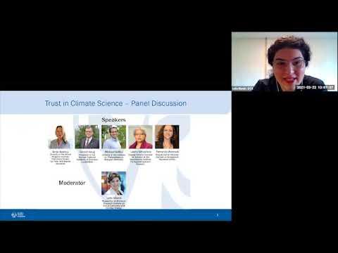 "GYA 2021 Virtual Satellite Panel ""Trust in Climate Science"""
