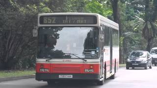 SMRT: Service 852 [TIB 674M] Scania L113CRL (Walter Alexander Strider)