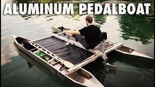 Pedal Driven Aluminum Catamaran