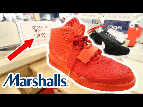 I PUT FAKE $5000 YEEZYS FOR SALE AT MARSHALLS!!