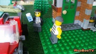 LASTENOHJELMIA SUOMEKSI - Lego city - Timanttinen tulivuori - osa 1