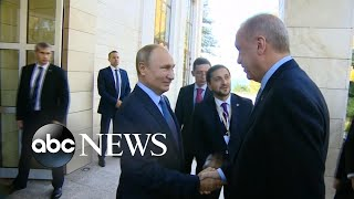 Russia moves in as US troops pull out of Syria l ABC News