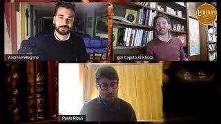 ABRAXAS, LA MAGIA DEL TAMBURO. Andrea Pellegrino intervista Igor Caputo e Paolo Riberi