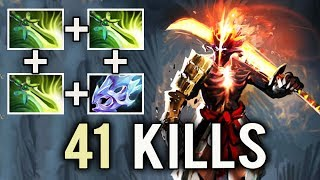 SUPER SAIYAN 3x Butterfly CRAZY 41 Kills Mind_Control Juggernaut 7k Party Gameplay Dota 2