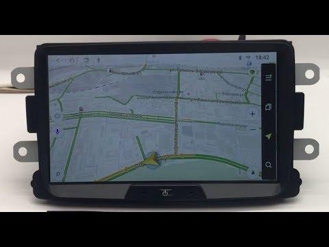 Штатная магнитола для Renault Duster 10-18г. с GPS