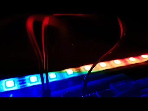 Arduino based RGB LED Organ || Music synced RGB LEDs