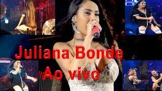 Juliana Bonde leva a galera a loucura em show ao vivo.