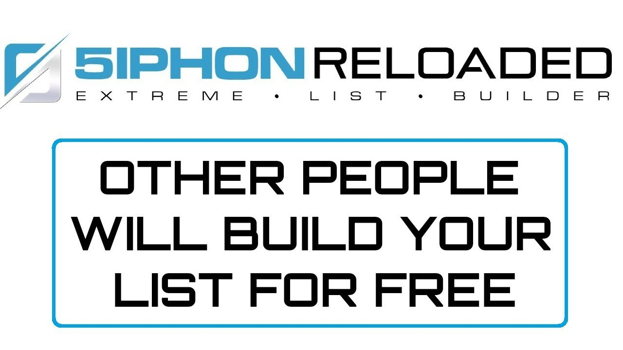 5iphon Reloaded PRO Review Bonus - Other People Will Build Your List for Free