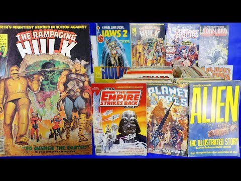 Epic Comic Book Collection Pickups Ebay Mystery Box Haul Bronze Age Silver Age Key Issue Video
