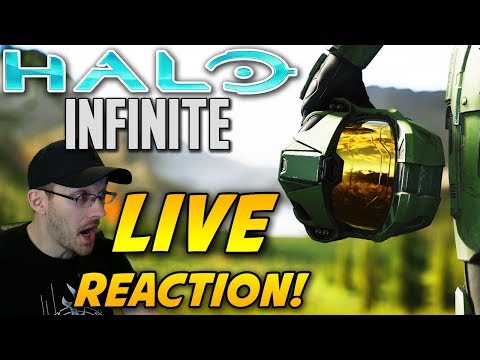 Halo Infinite Trailer Live Reaction! I Couldn't Believe It! Halo Infinite E3 Announcement Trailer