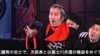 園岡新太郎 「清水の次郎長・黒駒勝蔵役」