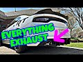2015 DODGE CHARGER RT STRAIGHT PIPE!! **Cold start, Revs, Fly-bys, & downshifts**
