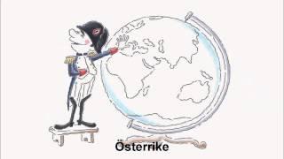 Redbull Napoleón de dibujos animados ad (sueco)