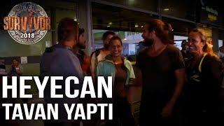 Gönüllüler'in İstanbul'daki ilk anları! Heyecan tavan yaptı... | 86. Bölüm | Survivor 2018