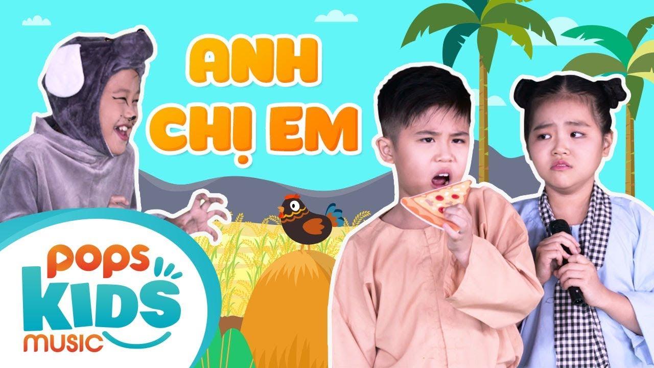 Mầm Chồi Lá Tập 160 - Anh Chị Em - Nhạc Thiếu Nhi Sôi Động | Vietnamese Kids Song