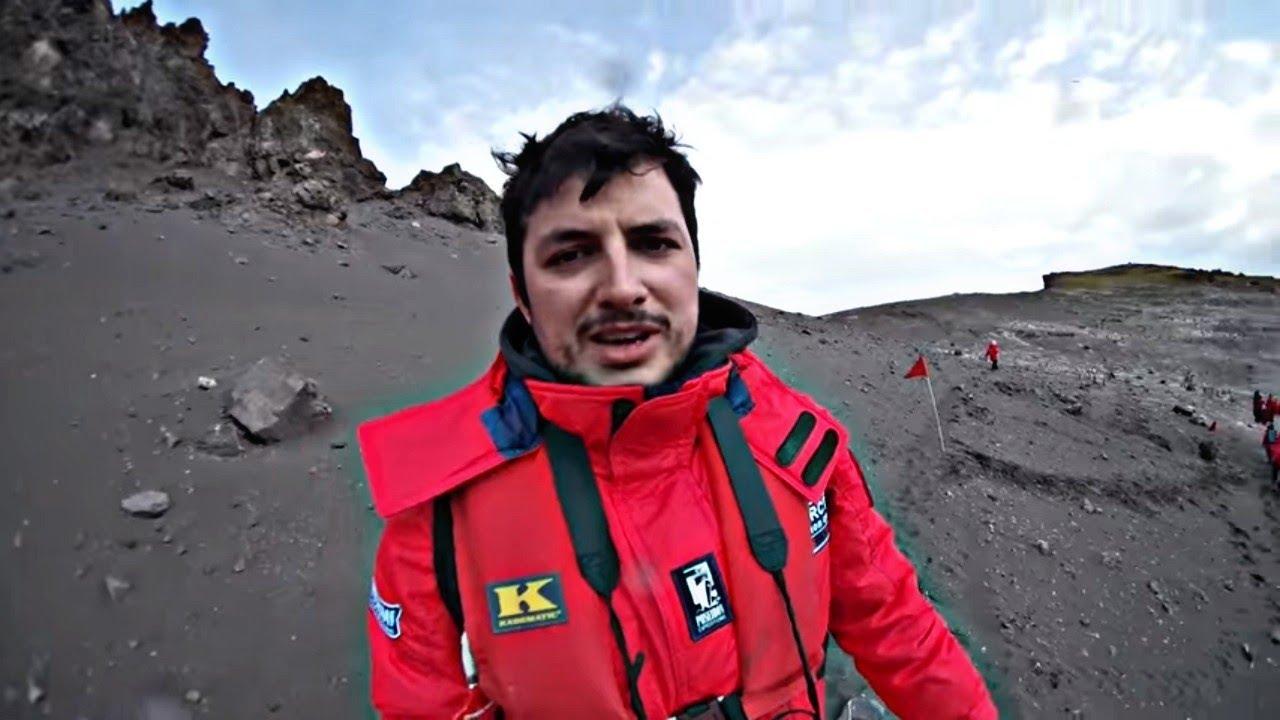 LODOWIEC wpada do wody i SŁONIE MORSKIE – Antarktyda #4