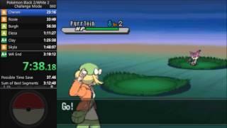 Pokemon White 2 Challenge Mode Speedrun in 3:18:37 [Current World Record]