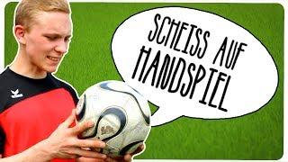 Dinge die man beim Fußball nicht machen sollte