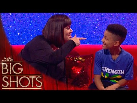'You little ting 'n ting!' 9 yr-old PT speaks Patois with Dawn | Little Big Shots