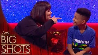 'You little ting 'n ting!' 9 yr-old PT speaks Patois with Dawn   Little Big Shots
