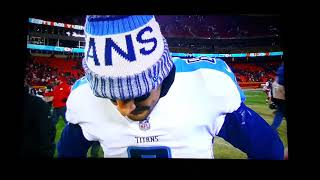 Marcus Mariota Postgame Interview after Titans Win