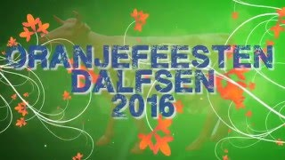 Oranjefeesten Dalfsen 2016