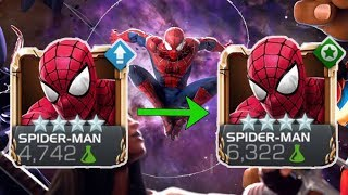 Spider-Man Rank Up & Gameplay - Marvel Contest of Champions 2017