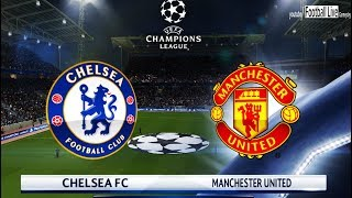 PES 2018 | Chelsea FC vs Manchester United | Gameplay PC | UEFA Champions League (UCL)