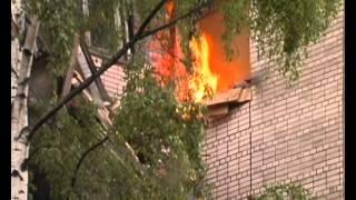 Обрушение дома на Двинской в Петербурге