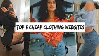 TOP 5 PLACES TO SHOP ONLINE | SHOPPING HACKS TO SAVE MONEY
