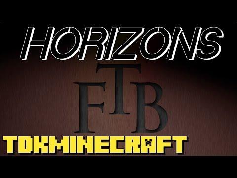 Minecraft FTB Horizons - Water Towers! Ep 33