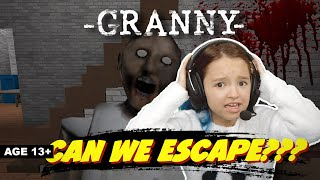 Roblox: Can We ESCAPE From GRANNY?? - FUNNY MOMENTS