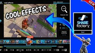 How to EDIT VIDEOS on PS4 with COOL EFFECTS using SHAREFACTORY (2019)