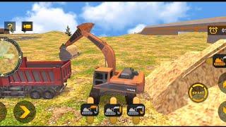 Heavy Excavator Simulator PRO (Android Gameplay by Razon) ep1 screenshot 3