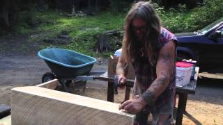 Making Farm Benches
