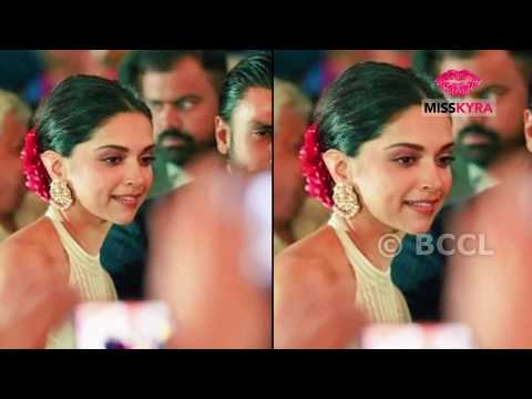 Deepika Padukone and Ranveer Singh step out in STYLE for a wedding
